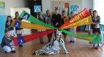 ЮИДовцы Краснодонецкой средней школы провели мероприятие «Уважаемая «Зебра»