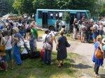 В Волгоградскую область прибыл еще один автобус с беженцами из Украины