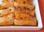 Рецепт: семга в соево-медовом соусе