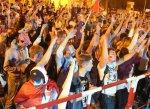 Около 2000 тысяч волгоградцев болели за сборную России всю ночь
