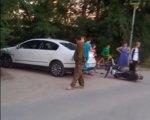 Житель Кировского района Волгограда, устроив гонку на мотоциклах едва неубил своего семилетнего сына