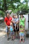Беженцам из Украины устроили праздник в парке им. Маяковского общими силами