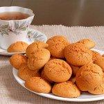 Рецепт: печенье амаретти с вишней