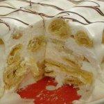 """Рецепт: торт """"Поленница"""" со сметанным кремом"""