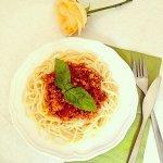 Рецепт: ароматные спагетти болоньезе