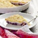 Рецепт: творожный пирог с ягодами