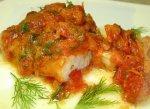 Рецепт: тушеная рыба под маринадом