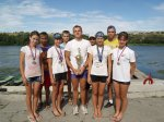 Белокалитвинские спортсмены успешно выступили на VIII спортивных играх  молодежи Дона по академической гребле