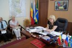 Встреча главы Белокалитвинского района с лидерами партий и общественных организаций по вопросу беженцев