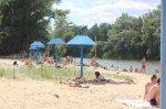 Белокалитвинский пляж на реке Калитва в парке Молодежном