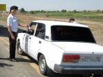 В Астраханской области инспекторы ГИБДД раздавали водителям воду