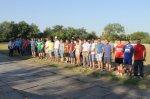 На стадионе в поселке Коксовом традиционная спартакиада среди организаций Донэнерго