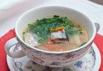Рецепт: суп из сайры с рисом