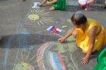 В ДК на Заречном отметили день государственного флага