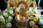 Икону с частицей мощей блаженной Матроны Московской, доставили в Волгоград