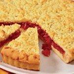 Рецепт: песочный пирог с вареньем