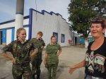 Воспитанники белокалитвинского кадетского корпуса им. М Платова посетили гребную базу