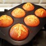 Рецепт: маффины с персиками