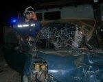 На трассе Ростов–Ставрополь Daewoo Matiz влетел под КАМАЗ