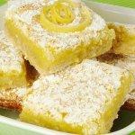 Лимонное печенье с ванилью