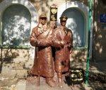 На улице Дзержинского установлен памятник всем пограничникам