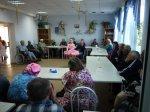 Творческие коллективы Дома культуры «Заречный» побывали в гостях в Центра реабилитации и престарелых х. Ленин