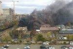В Краснодаре потушили пожар в бывшем здании УФМС