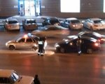 В Ростове пьяный водитель врезался в машину ГИБДД