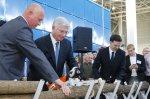 Владимир Евланов открыл в Краснодаре торговый центр, перерезав бензопилой ствол дерева