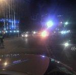 Мотоцикл взорвался и загорелся в центре Краснодара