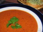 Острый мексиканский томатный суп-пюре