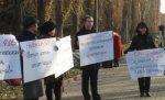 В Волгограде на пикет против точечной застройки вышли 30 человек