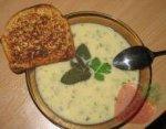 Куриный суп с ароматом мяты