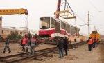 В Волгограде новый супертрамвай из Екатеринбурга вышел в пробный рейс