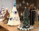 В Ростове открылась выставка необычных новогодних елок