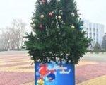 В Батайске разорили новогоднюю елку за 300 тысяч рублей