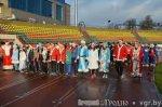 В Волгоградской области Деды Морозы на коньках выходят на старт