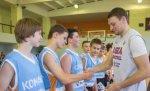«Ростелеком» и ПБК ЦСКА провели мастер-класс для юных баскетболистов