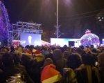 Несколько сотен ростовчан встретили новый год у главной елки города