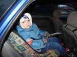 В Староминском районе сотрудники ГАИ дарили детские удерживающие устройства