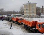 За ночь с улиц Ростова вывезено почти четыре тысячи тонн снега