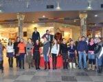Певчие ростовского храма устроили в торговых центрах флешмоб