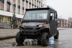 Краснодарским полицейским вручили мотовездеход