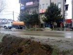 В центре Батайска разлилась вода