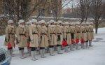 На улицы Волгограда вновь выйдет взвод девушек в военной форме