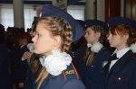 Кадеты белокалитвинского казачьего кадетского корпуса им. М. Платова приняли Кодекс чести  в торжественной обстановке