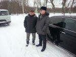 Глава администрации Каменского района Константин Грошев контролирует расчистку дорог от снега