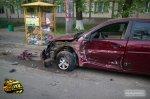 Под Волгоградом «Hyundai Accent» врезался сразу в четыре автомобиля