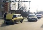 В Таганроге Daewoo Espero столкнулся с «ВАЗ-2105»