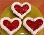 Пирожное Валентинки